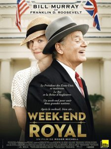 "Affiche du film ""Week-end royal"""