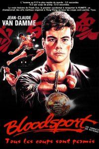 """Affiche du film """"Bloodsport, tous les coups sont permis"""""""