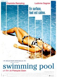 "Affiche du film ""Swimming Pool"""
