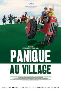 "Affiche du film ""Panique au village"""
