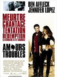 """Affiche du film """"Amours Troubles"""""""