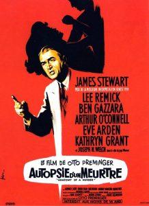 """Affiche du film """"Autopsie d'un meurtre"""""""