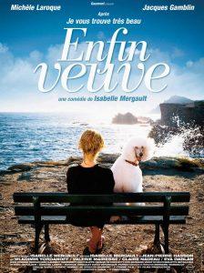 """Affiche du film """"Enfin veuve"""""""
