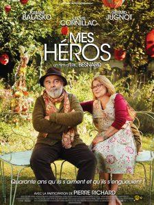 "Affiche du film ""Mes héros"""