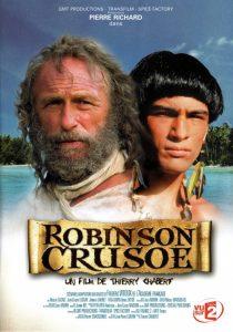 """Affiche du film """"Robinson Crusoe"""""""
