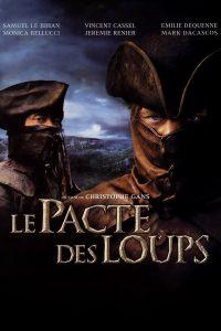 """Affiche du film """"Le pacte des Loups"""""""