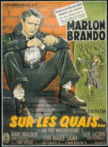 """Affiche du film """"Sur les quais"""""""