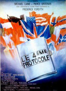"""Affiche du film """"Le quatrième protocole"""""""
