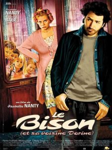 """Affiche du film """"Le Bison (et sa voisine Dorine)"""""""