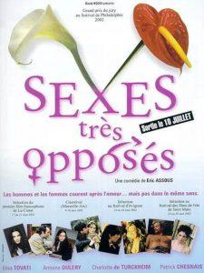 """Affiche du film """"Sexes très opposés"""""""