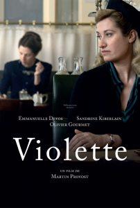 "Affiche du film ""Violette"""
