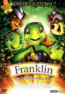 """Affiche du film """"Franklin et le trésor du lac"""""""