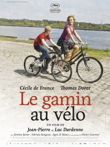"""Affiche du film """"Le Gamin au vélo"""""""