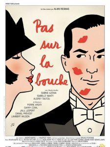 """Affiche du film """"Pas sur la bouche"""""""
