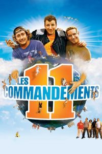 "Affiche du film ""Les 11 Commandements"""