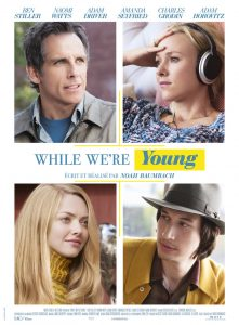 """Affiche du film """"While We're Young"""""""