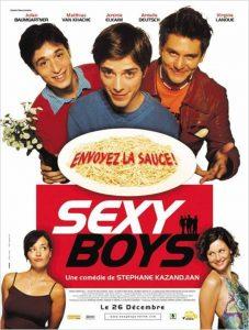 "Affiche du film ""Sexy boys"""