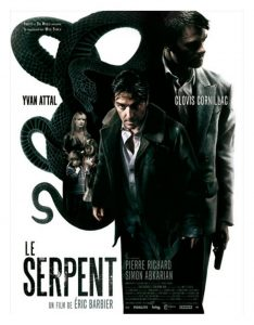 "Affiche du film ""Le serpent"""