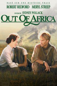 """Affiche du film """"Out of Africa - Souvenirs d'Afrique"""""""