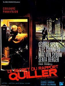 """Affiche du film """"Le secret du rapport Quiller"""""""