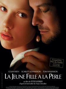 """Affiche du film """"La jeune fille à la perle"""""""