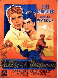 """Affiche du film """"La Vallée de la vengeance"""""""