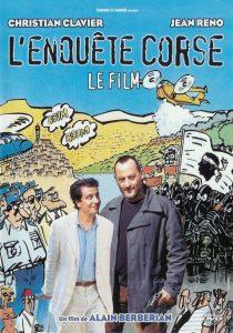 """Affiche du film """"L'enquête corse"""""""