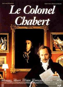 "Affiche du film ""Le colonel Chabert"""