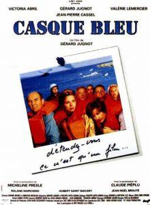 "Affiche du film ""Casque bleu"""