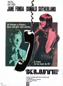 """Affiche du film """"Klute"""""""