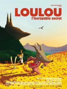 """Affiche du film """"Loulou, l'incroyable secret"""""""