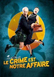 """Affiche du film """"Le crime est notre affaire"""""""