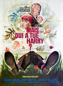 "Affiche du film ""Mais…qui a tué Harry"""