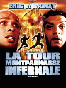 """Affiche du film """"La Tour Montparnasse infernale"""""""