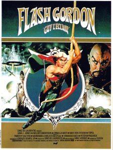 """Affiche du film """"Flash Gordon"""""""