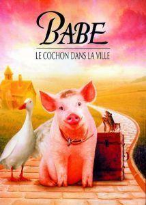 """Affiche du film """"Babe, le cochon dans la ville"""""""