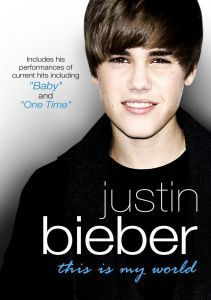 "Affiche du film ""Justin Bieber - This Is My World"""