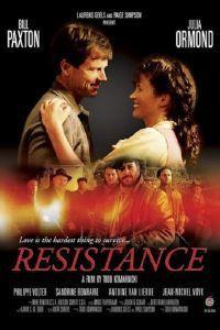 """Affiche du film """"Résistance"""""""