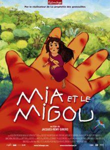 """Affiche du film """"Mia et le Migou"""""""