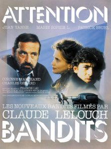 "Affiche du film ""Attention bandits!"""