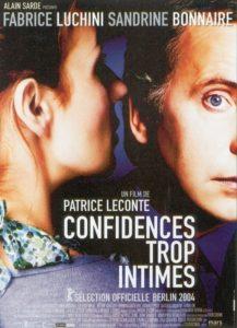 """Affiche du film """"Confidences trop intimes"""""""